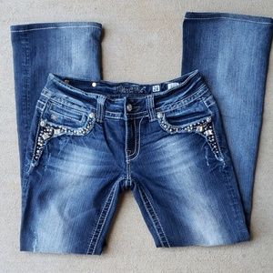 Miss Me Bootcut Jeans.  Size 28